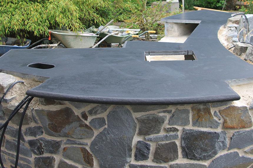 Platte Für Außenküche : Arbeitsplatte außenküche außen arbeitsplatte für bequeme