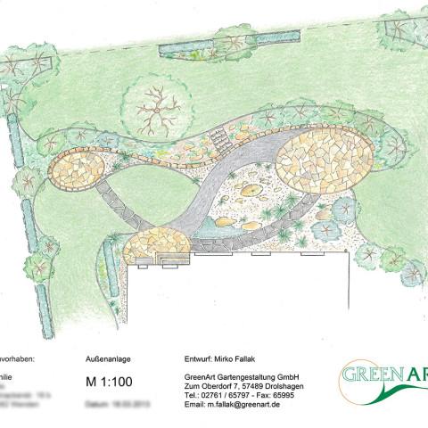 Gartenplan 1