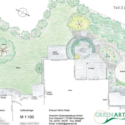 Gartenplan 10
