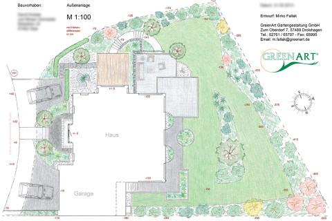 Gartenplan 11
