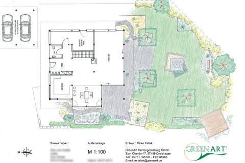 Gartenplan 13
