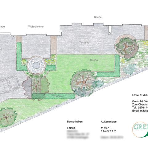 Gartenplan 14