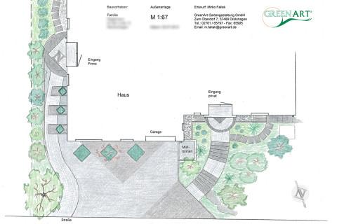 Gartenplan 16