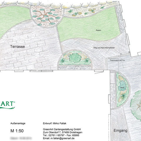 Gartenplan 18