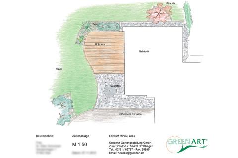 Gartenplan 19