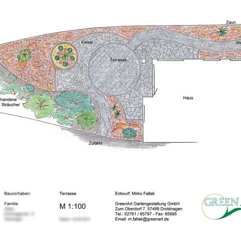 Gartenplan 20