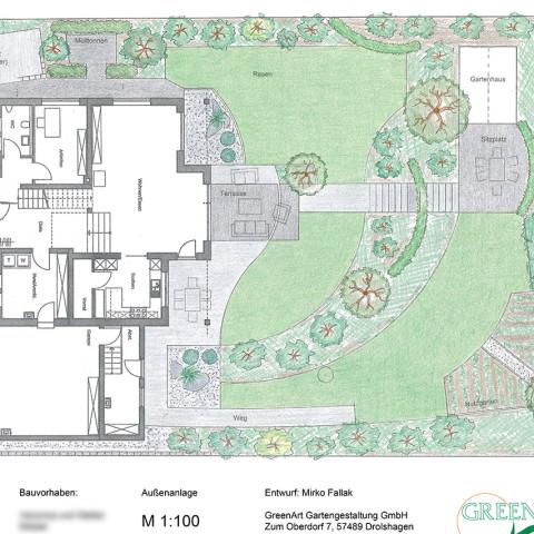 Gartenplan 25