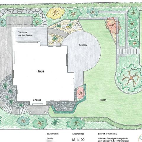 Gartenplan 4