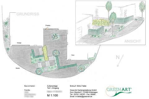 Gartenplan 6