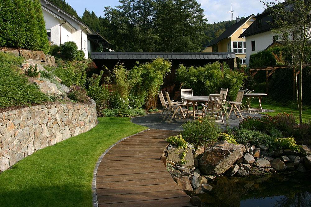 Greenart filters gartenanlagen for Gartenanlagen bilder